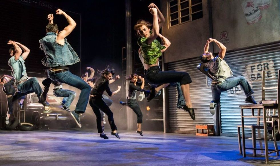 "en scene fra Matthew Bourne's ""The Car Man"", Newcastle Theatre Royal, April 2015"