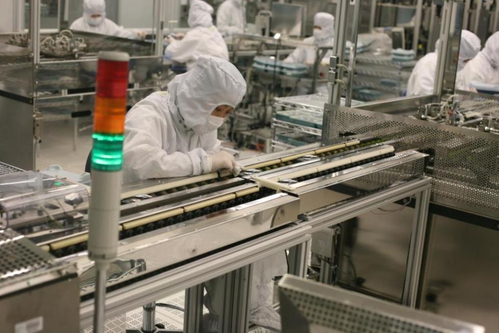 Produktion af SeaGate harddiske